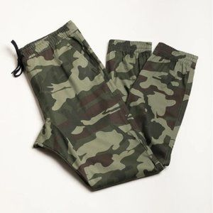 Brooklyn cloth boys camo twill jogger pants